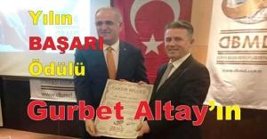 Yılın BAŞARI Ödülü Gurbet Altayın