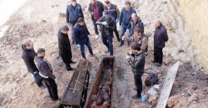Ardahan'da Rus generale ait tabut bulundu