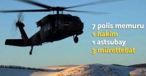 Tunceli'de helikopter düştü: 12 şehit