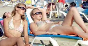 Antalya'ya gelen  Rus turist sayısı yüzde 1.455 arttı