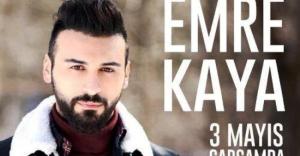 Emre Kaya 3 Mayıs'ta İstanbullu hayranlarıyla buluşacak