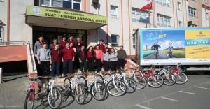 İBB 39 bin bisiklet dağıttı
