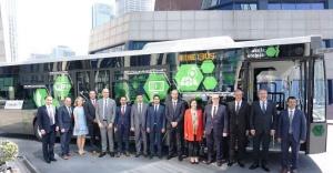 Türkiye'nin ilk yüzde 100 yerli akıllı otobüsü