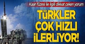 Türkler Çok Hızlı İlerliyor