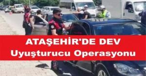 Ataşehir#039;de Dev Uyuşturucu operasyonu