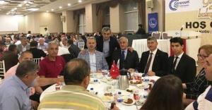 İSTANBUL'DA GİRESUNLULAR AYNI SOFRADA BULUŞTU