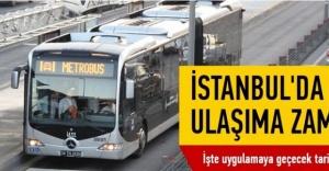 İstanbul#039;da Toplu ulaşım ücretlerinde...