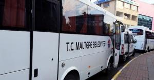 Maltepe'de  Bayramda mezarlıklara ücretsiz servis