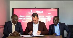Türk- Afrika Gençlik Konseyi İçin İmzalar Atıldı