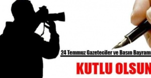 Av. Mustafa Naim YAĞCI'nın Basın Bayramı Kutlam mesajı