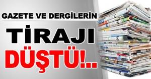TÜRKİYE'DEKİ GAZETE VE DERGİ SAYISI AZALIYOR