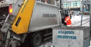 ATAŞEHİR'DE EVSEL ATIK ALIM SAATLERİNDE DÜZENLEME