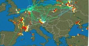 Dünya'nın 'yıldırım haritası'