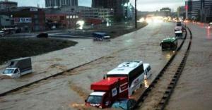 Meteoroloji kuvvetli yağış ve sel...