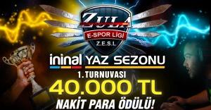 Toplam 40 bin Lira ödüllü Zula Yaz Turnuvası Başladı