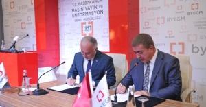 Türk Kızılayı ile Basın yayın ve Enformasyon Genel Müdürlüğü'nden işbirliği