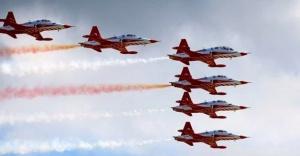 Türk Uçakları Rusya'da ilk defa uçuşu yaptı