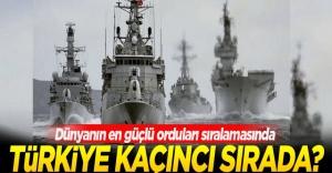 Türkiye #039;en güçlü 10 ordu#039;...