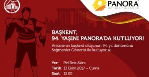 Ankara'nın Seğmenleri Atatürk'ü Panora'da Karşılıyor