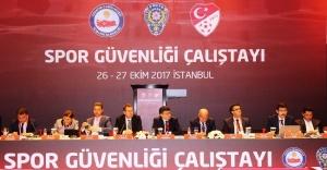 Spor Güvenliği Çalıştayı Düzenlendi