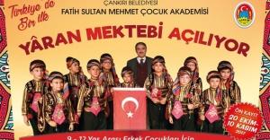 Türkiye'de Bir İlk: Yaran Mektebi Açılıyor