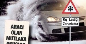 Kış Lastiği Zorunluluğu 1 Aralık'ta Başlıyor