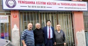 Orhan Çerkez, Mahallemizin sorunlarını hep birlikte çözeceğiz