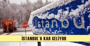 İSTANBUL#039;A KAR GELİYOR