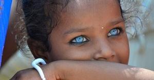 Mavi gözlü Afrikalılar