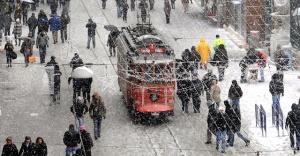 18 Ocak Perşembe  günü İstanbul'a kar yağışı uyarısı
