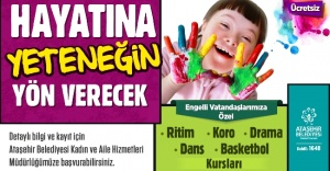 Ataşehir'de Engellilere Yönelik Yeni Kurslar Başlatıyor