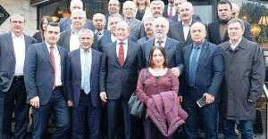 Hamzaçebi, Sinop Platformu Üyeleriyle Bir Araya Geldi