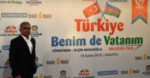 """""""Türkiye Benim de Vatanım"""" Belgeselinin Galası Yapıldı"""