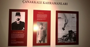 """""""ÇANAKKALE SAVAŞLARINDA GALATASARAYLILAR"""" SERGİSİ"""