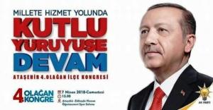 AK Parti Ataşehirde kongre heyecanı
