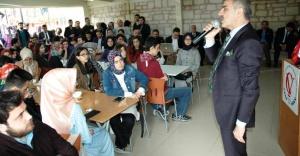 İrfan Dinç, İstanbul'da Çankırılı öğrencilerle Bir araya Geldi