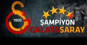 Galatasaray her yerde şampiyon