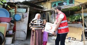 Kızılay Ramazan'da 50.000.000 lira nakdi yardım yapacak.