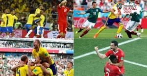 2018 Dünya Kupası 16 turu eşleşmeleri belli oldu