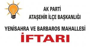 AK PARTİ ATAŞEHİR#039;İN YENİSAHRA...