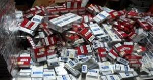 Ataşehir'de  Binlerce paket kaçak sigara ele geçirildi