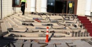 Düzce Polisi Abartı Egzoza Savaş Açtı