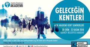 KADIKÖY 'GELECEĞİN KENTLERİ'Nİ TARTIŞIYOR