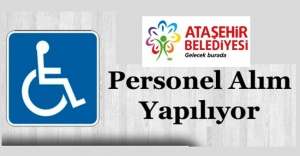 Ataşehir Belediyesi 15 Engelli Elemanı...