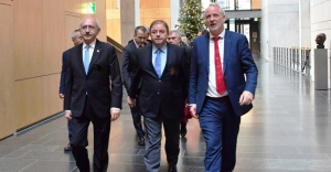 Kılıçdaroğlu Almanya Federal Meclisi'nde