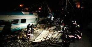 Ankara'da Yüksek Hızlı Tren kazası: 4 Ölü 43 Yaralı