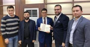 Çankırı Vakfı Mustafa Alpay'ı ağırladı