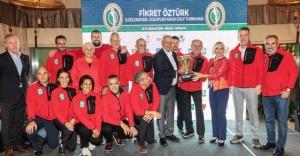 Fikret Öztürk Kulüplerarası Golf Turnuvası sona erdi
