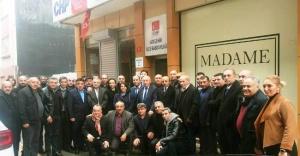 Sivas İmranlı Dernekler Federasyonu'ndan CHP Ataşehir'e Ziyaret