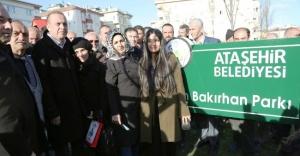 Battal İlgezdi Ekrem Bakırhan Parkının...